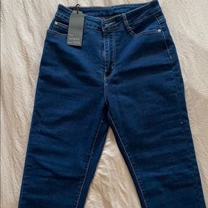 New blue jeans